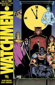 Watchmen book art